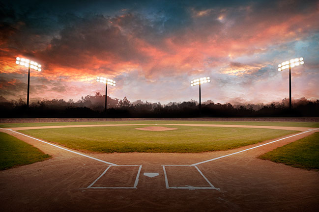 2014_Baseball_Sunset