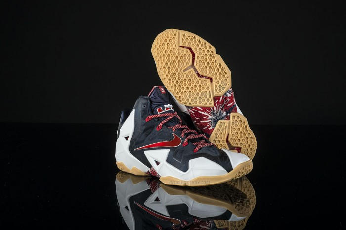 Nike LeBron 11 - 'July 4th' (2)