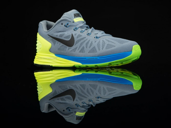Nike LunarGlide 6 Magnet Grey/Volt-Photo Blue-Black (2)