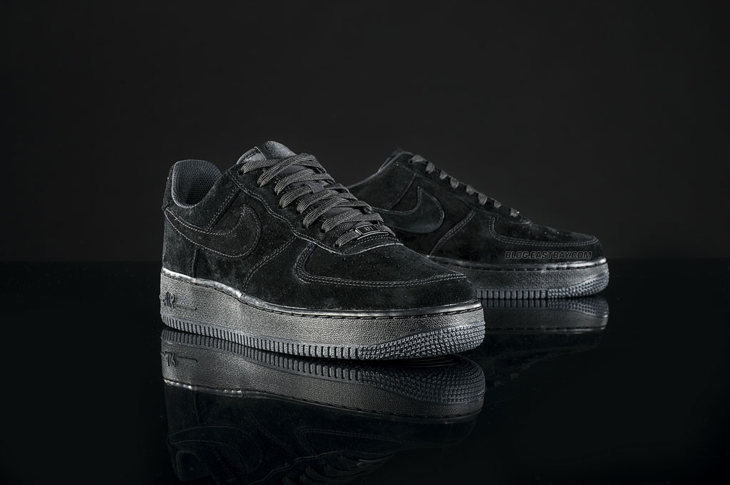 sports shoes f539d be9a6 Nike Air Force 1 Low  Triple Black  (1)