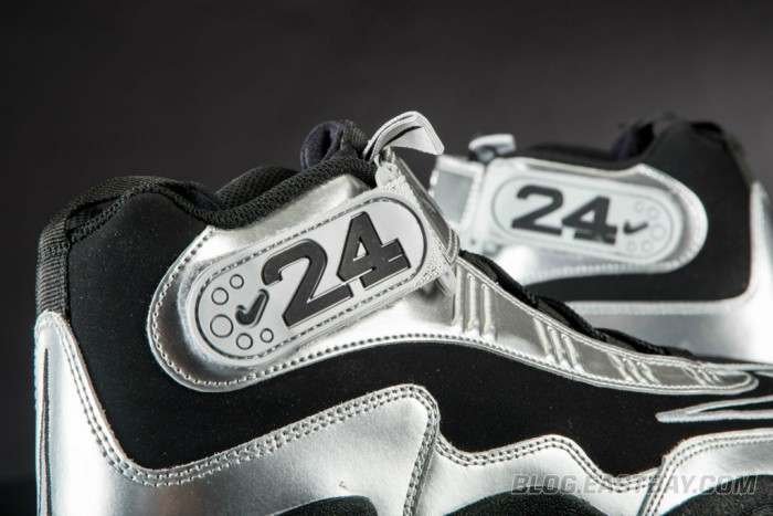 Nike Air Max Griffey 1 - Black/Light Magnet Grey-Metallic Silver (3)