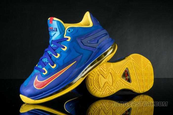 Nike LeBron XI 11 Low Superman (2)