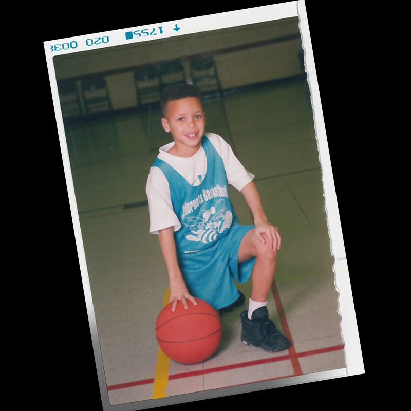 Stephen Curry Kid Stephen Curry – Sile...