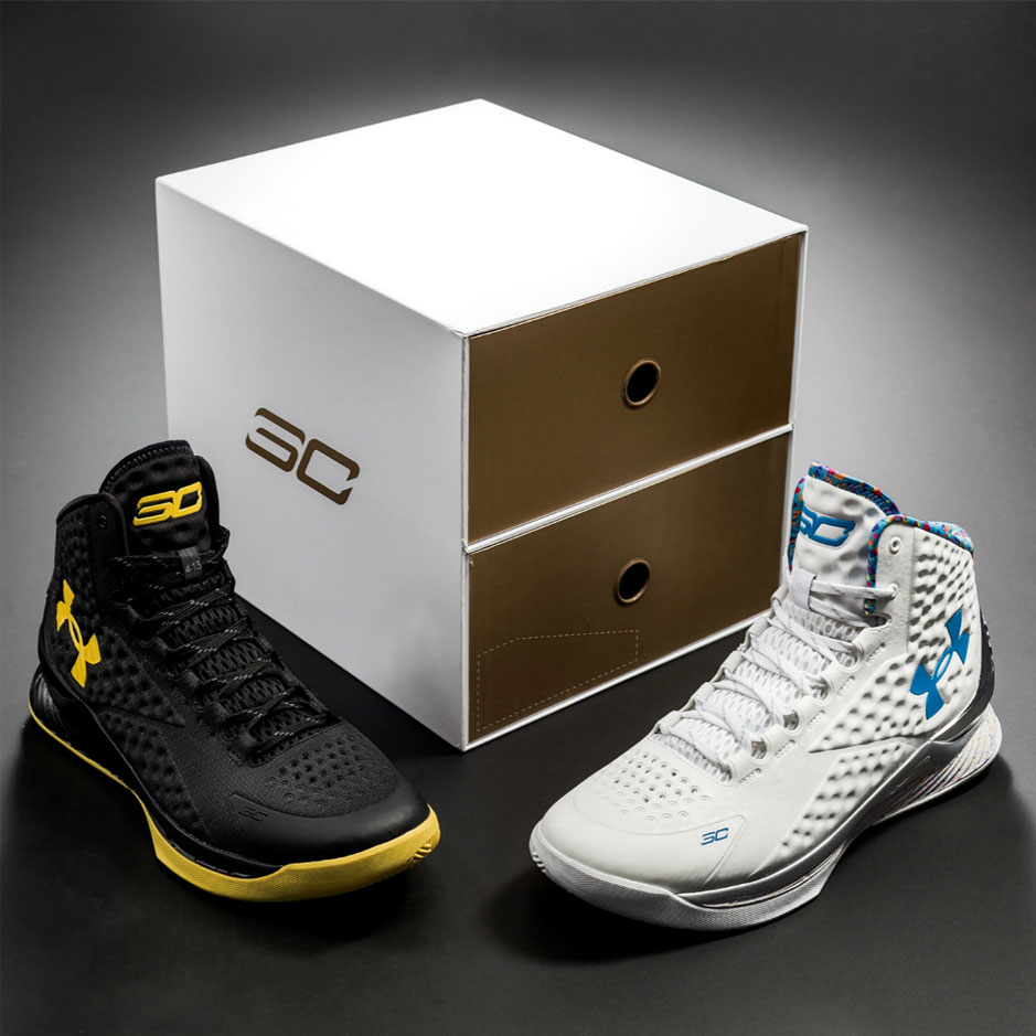e53c7d095007 Dropping Soon  UA Curry 1 Championship 2-Pack