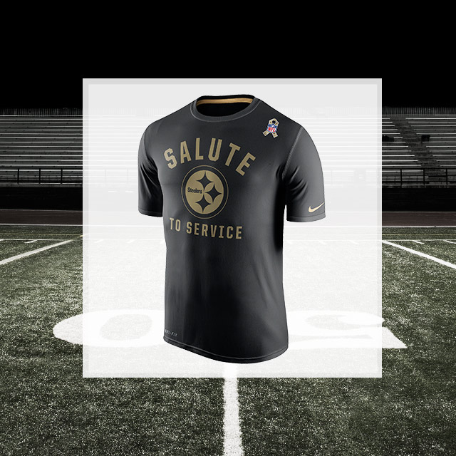 Support From The Sidelines: NFL Salute To Service Collection