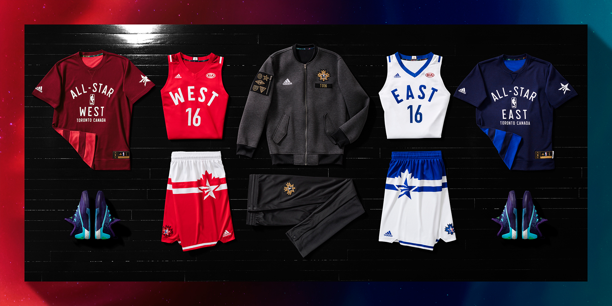 062651b3165 2016 NBA All-Star Game Jerseys Unveiled