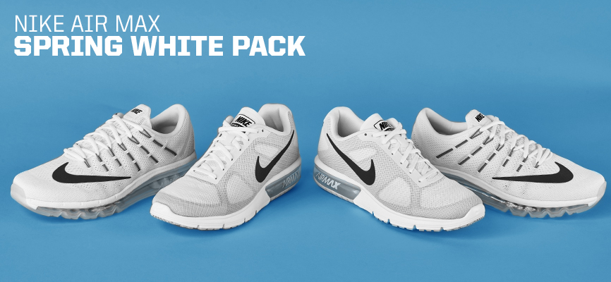Air Max Day Spring White Pack