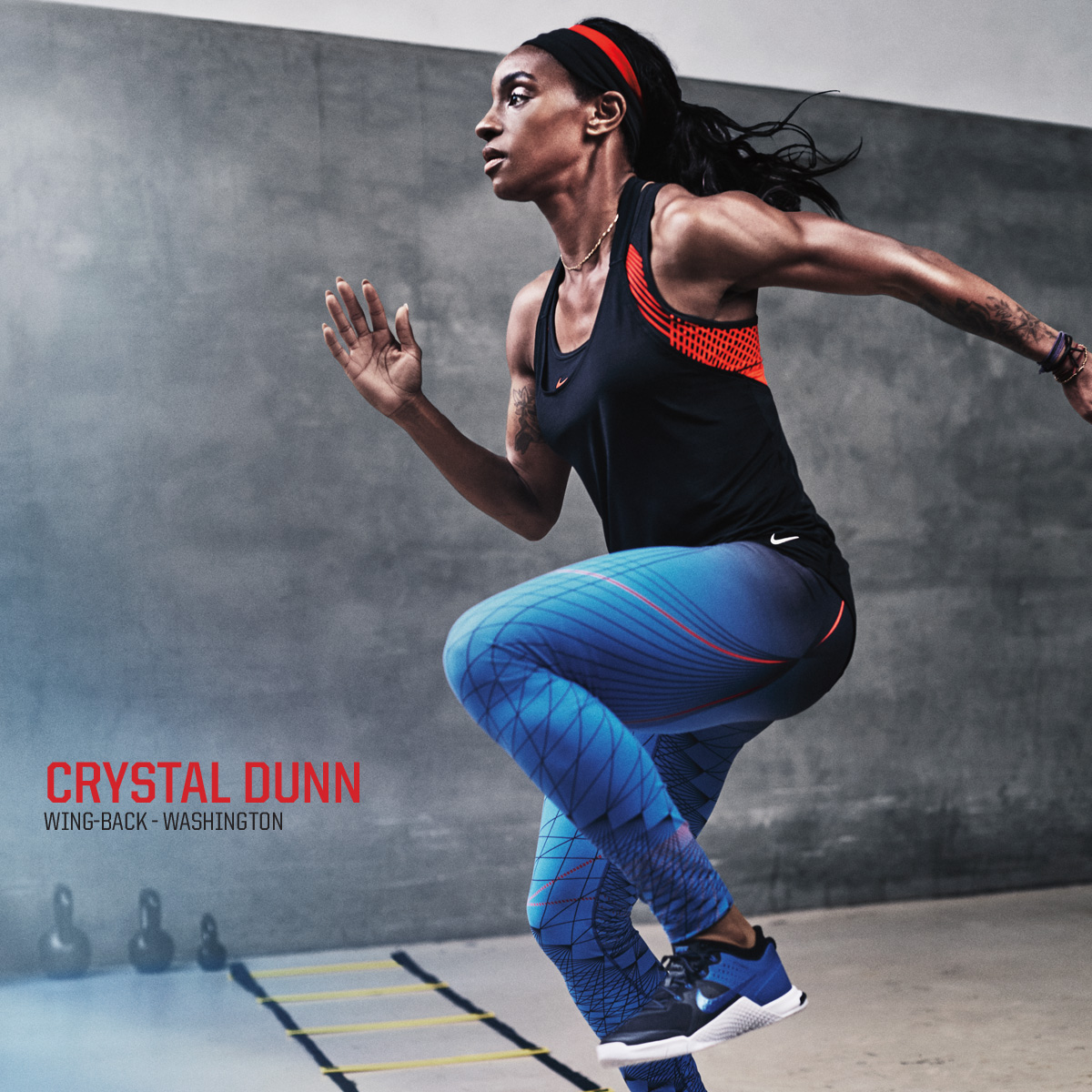Crystal Dunn Strives to Join the Elite
