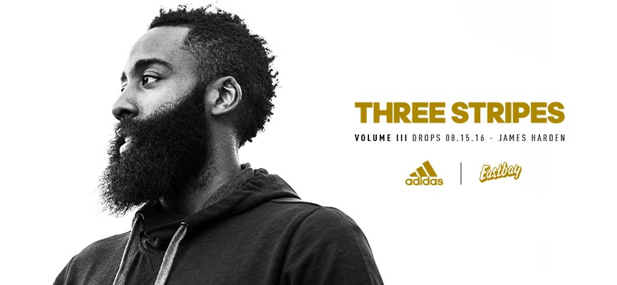 adidas Three Stripes James Harden