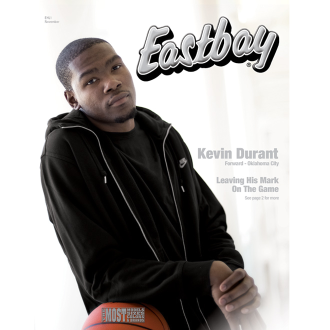 Kevin Durant Eastbay Catalog Cover