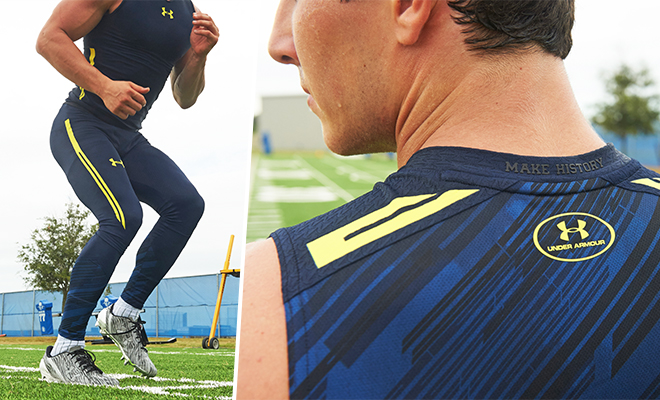 super popular 3c68b 32f54 Under Armour NFL Combine Training Gear: Built For The ...