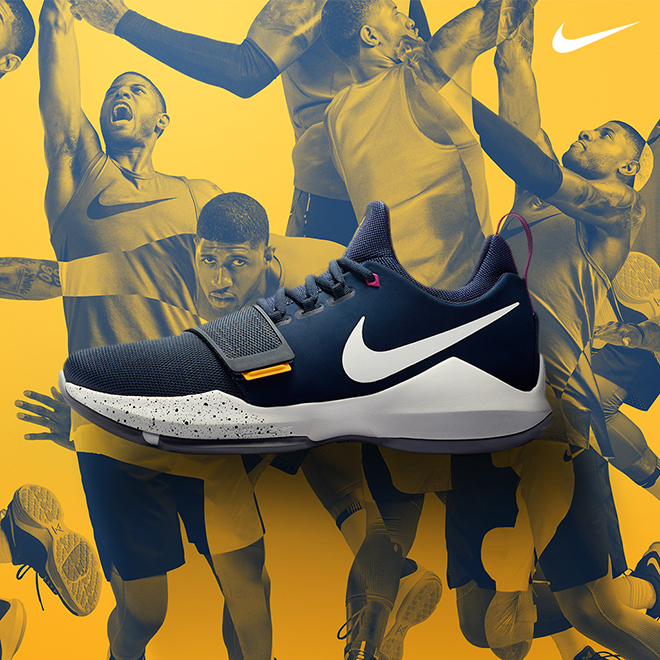separation shoes 825a0 fdc78 Paul George Joins Nike's Elite with the PG1 | Eastbay Blog ...