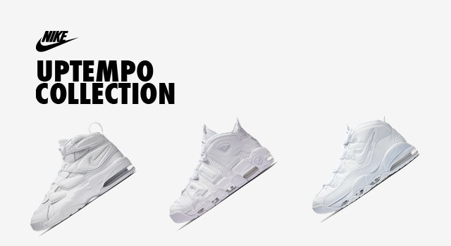 pick up 49582 73e91 A trio of Nike Air Uptempo s drop this weekend in a fresh all-white colorway  that s perfect for summertime stunting. The Nike Air More Uptempo, ...