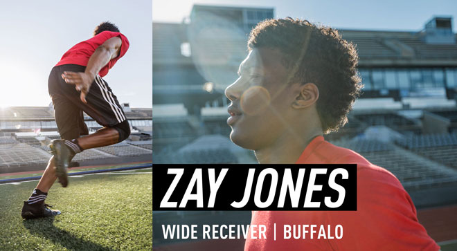 adidas Three Stripes - Zay Jones