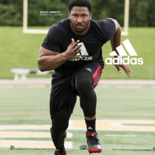 Watch Myles Garrett's Challenge To You