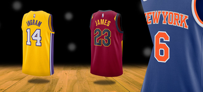 Nike Swingman NBA Jersey