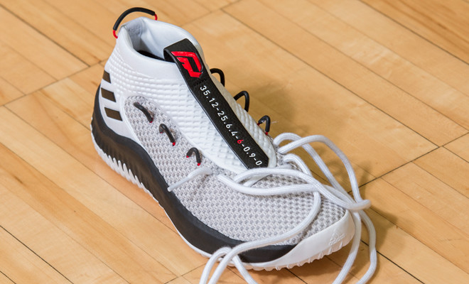 Lillard s shoes have always incorporated unique design elements that relate  to Lillard s past. On the Dame 4 1db459b72
