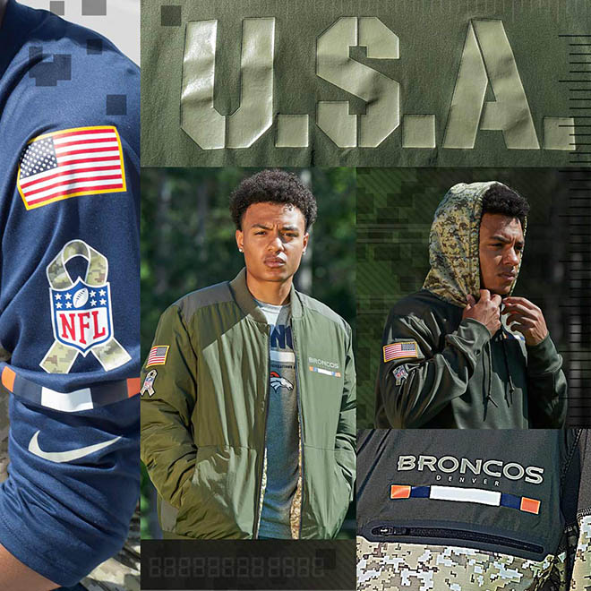 outlet store d53b8 b1430 November Is Here And That Means Nike NFL Salute To ...