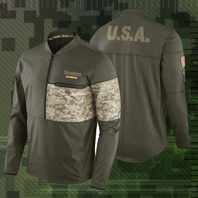 best website 3aefd fba9c salute the troops nfl gear