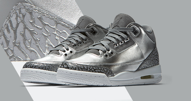 c22b940e1ed2ea Jordan Brand has been really killing it with their exclusive Girls  Retro  releases lately and the Retro 3  Chrome  is no exception.