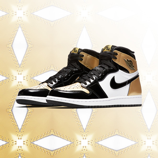 2.14 Jordan Retro 1 Gold Toe