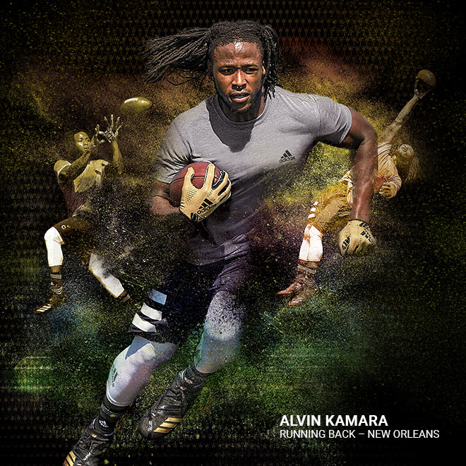 The Two Sides Of New Orleans Running Back Alvin Kamara