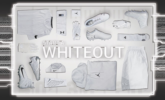 Football By Color White