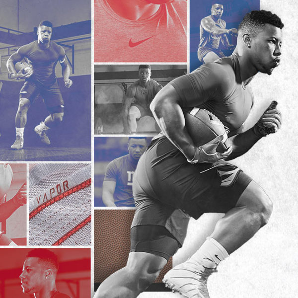 Saquon Barkley Football Training