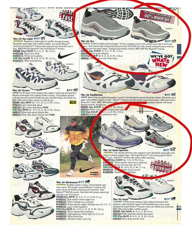 buy popular 611bc 574f5 Nike Stories August 1997