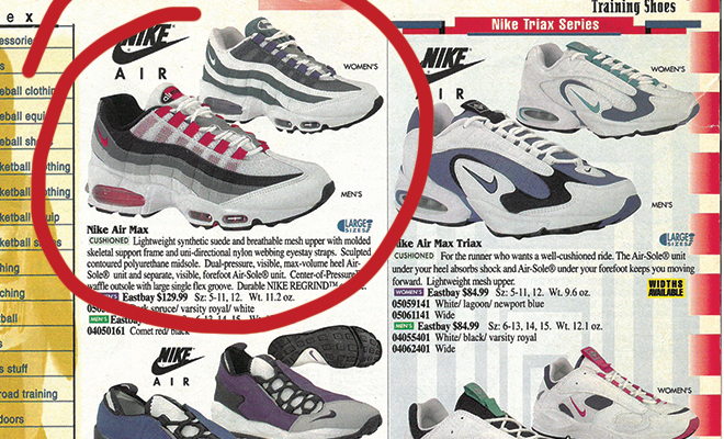 detailed look 4132e bd805 A Look Back: The Air Max 95 and Air Max Plus | Eastbay Blog ...