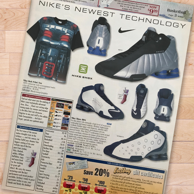 Nike Shox BB4 Eastbay Catalog 39a6ef88c