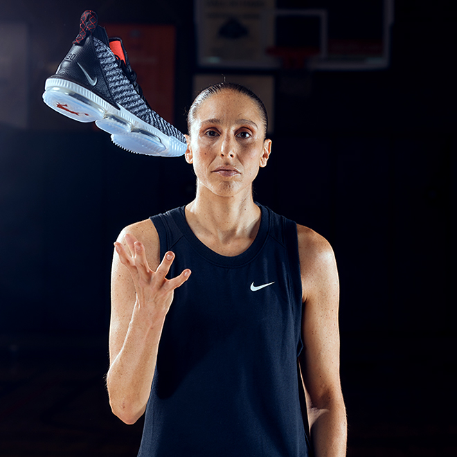 Diana Taurasi and the Lebron 15