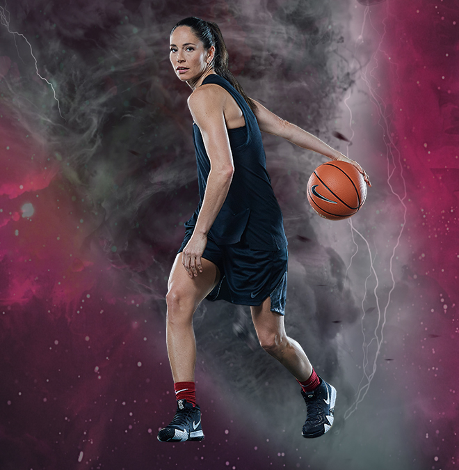 Sue Bird is a tornado on the court