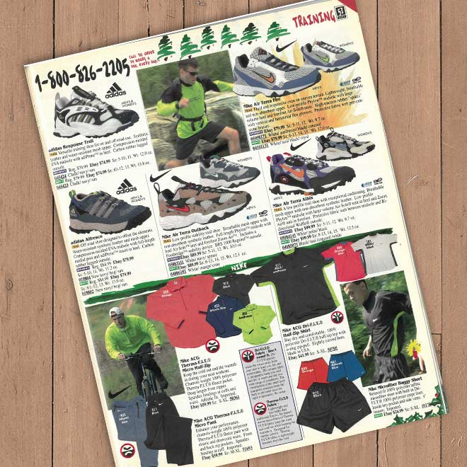 Eastbay Outdoors Intro Page