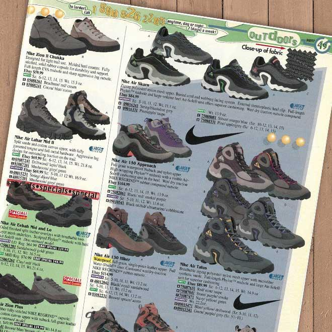Nike Outdoors shoes