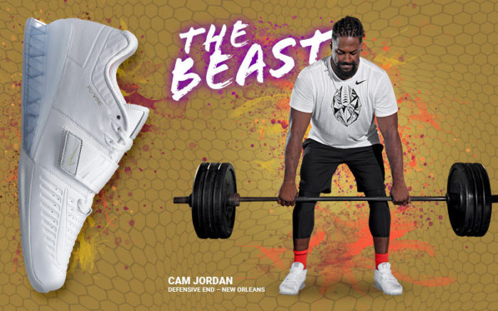 sale retailer a10fb 632d8 For the first one in the gym and the last one out, the Nike Romaleos are  designed for the beast in the weight room. Featuring a honeycomb-patterned  TPU ...