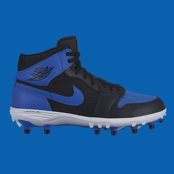 AJ1 cleat blue