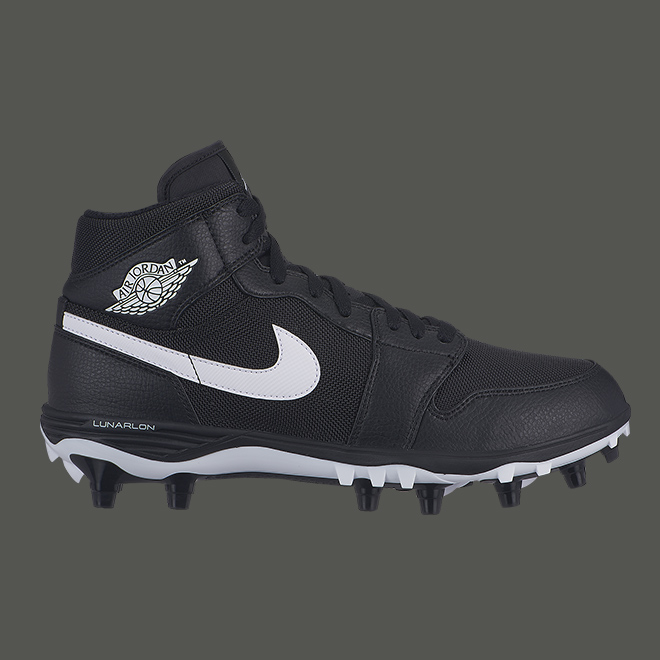 AJ1 cleat black
