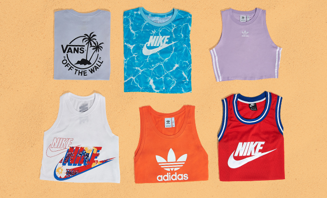 Summer Essentials Tees and Tanks