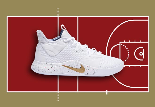 Nike PG 3 Basketball Shoe for Volleyball