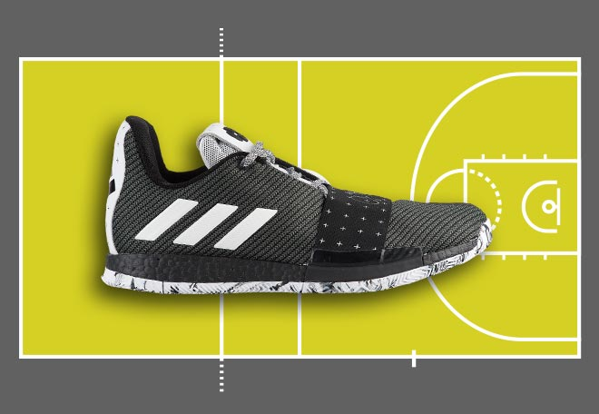 Harden 3 Basketball Shoe for Volleyball