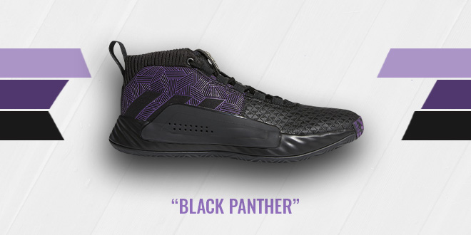 adidas Dame 5 Black Panther Colorway