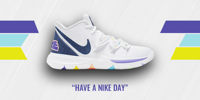Nike Kyrie 5 Have A Nike Day Colorway
