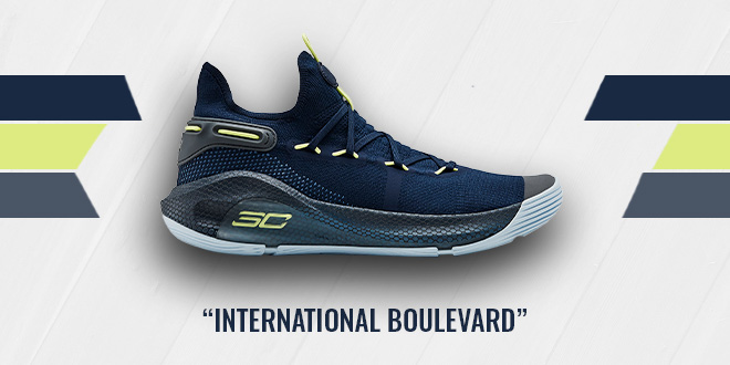 Under Armour Curry 6 International Boulevard Colorway