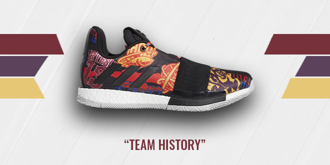 adidas Harden 3 Team History Colorway