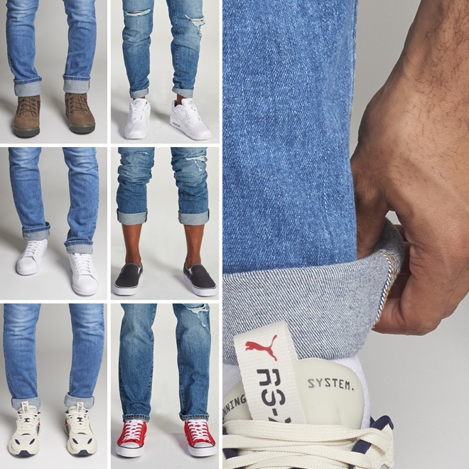 picked up elegant shoes save up to 80% 6 Ways To Cuff Your Jeans | Eastbay Blog : Eastbay Blog
