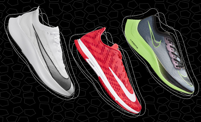 Nike Zoom racing shoes