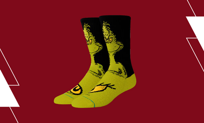 Gift Guide Blog Stocking Stuffers Grinch Socks