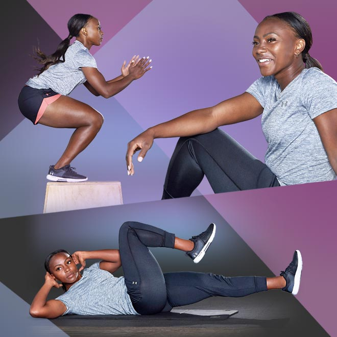 HIIT Home Workout with Jamia Fields