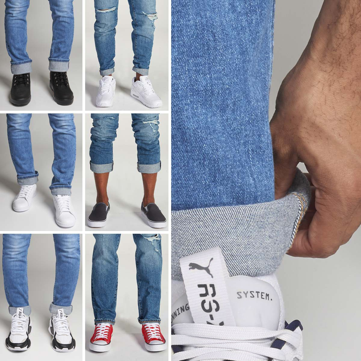 Cuff Your Jeans Mobile Spotlight